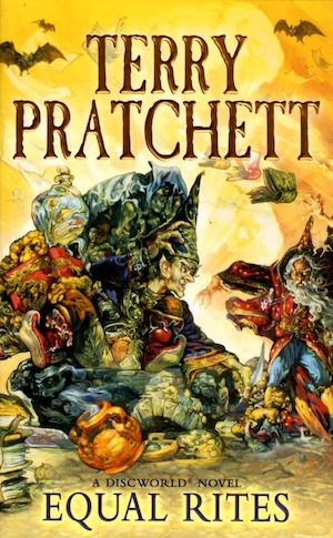 Equal rites : [a Discworld novel] / Terry Pratchett.