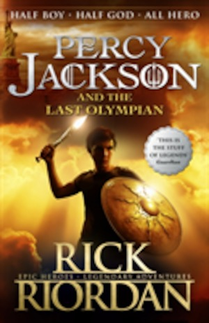 Percy Jackson and the last Olympian / Rick Riordan.