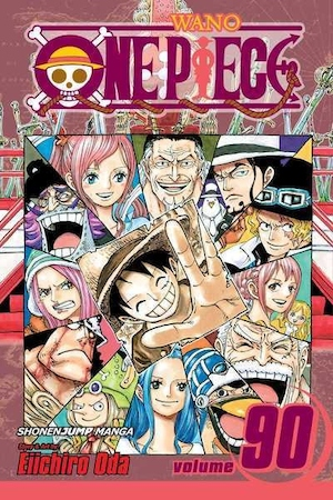 One piece: Vol. 90 Sacred marijoa
