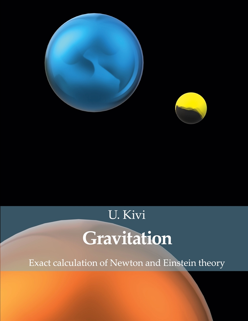 Gravitation: Exact calculation of Newton and Einstein theory